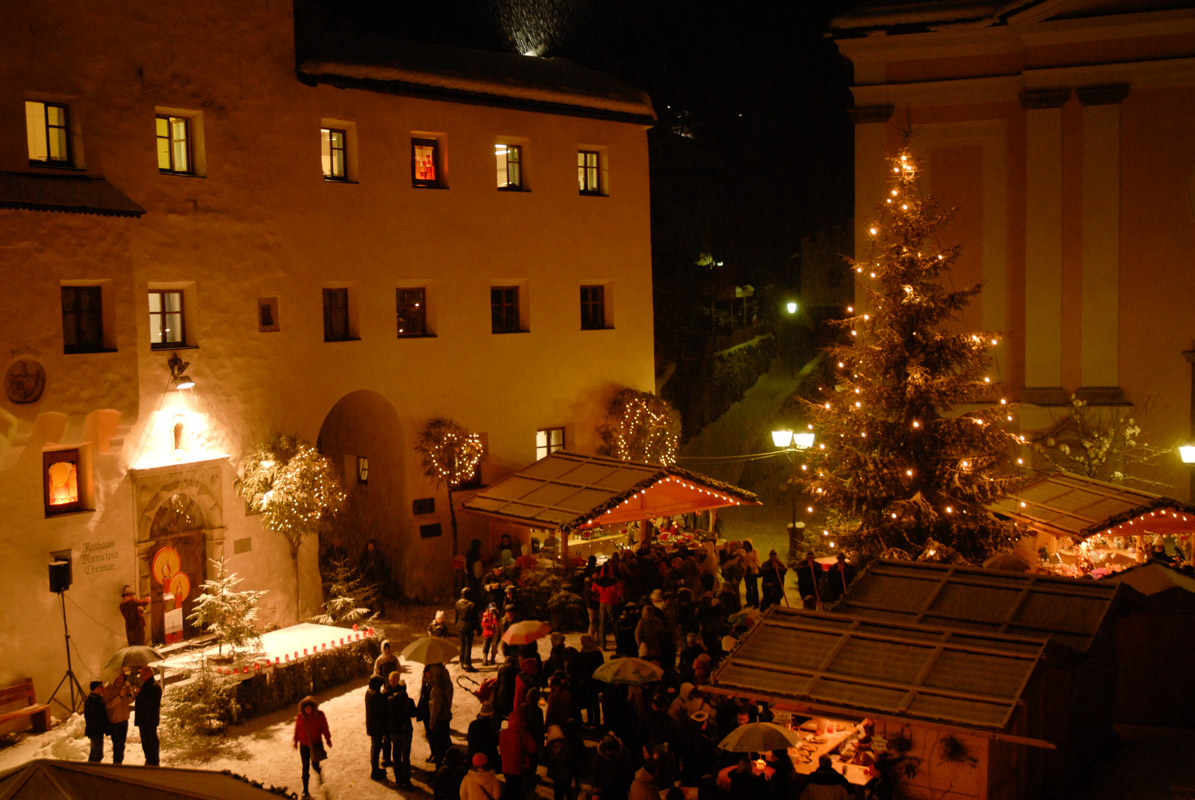 Christmas Market in Castelrotto near Alpe di Siusi
