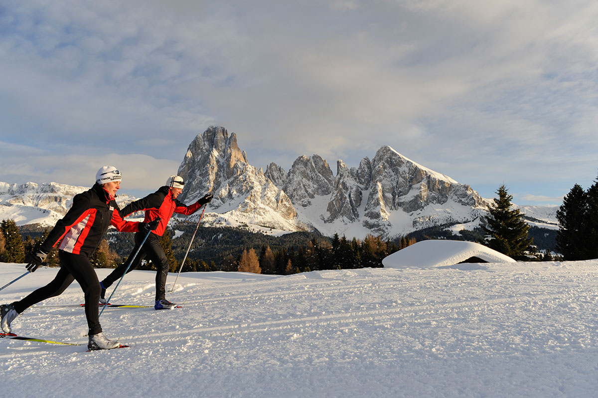 Cross-country skiing paradise Seiser Alm